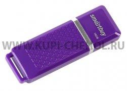 Флеш Smartbuy Quartz 16Gb Violet USB 2.0