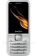 Телефон Maxvi X800 Silver