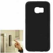 Чехол силиконовый Samsung Galaxy S6 Edge G925 антигравитационный 9480 чёрный