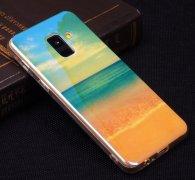 Чехол-накладка Samsung Galaxy A8 2018 (A530) Blue Shine 10442