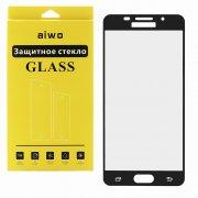Защитное стекло Samsung Galaxy A5 (2016) A510 Aiwo Full Screen черное 0.33mm