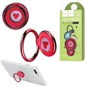 Кольцо-держатель Hoco PH11 Red