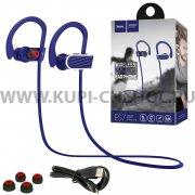 Спортивная bluetooth-гарнитура HOCO ES7 Blue
