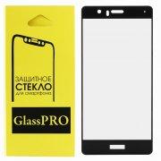 Защитное стекло Huawei P9 Lite Glass Pro Full Screen черное 0.33mm