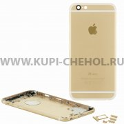 Задняя крышка Apple iPhone 6 AAA 8474 золотая