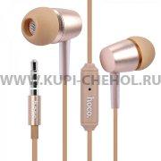Наушники с микрофоном HOCO M10 Gold