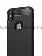Чехол-накладка Apple iPhone X 9508 чёрный