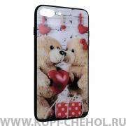 Чехол-накладка Apple iPhone 7 Plus 22039 Влюбленные мишки