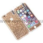 Защитная плёнка Apple iPhone 6 / 6S 4.7 2в1 3D 9466 золотая