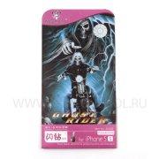 Пленка декоративная Apple iPhone 5/5S 5S-022 2в1