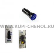 АЗУ Micro USB 2.1A 2USB Moxom KC-05 чёрное