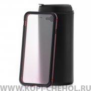 Чехол-накладка Apple iPhone 7/8 Kruche RJC-11 Black red