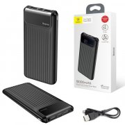 Power Bank 10000 mAh Baseus Black УЦЕНЕН