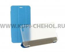 Чехол откидной Lenovo Phab Plus PB1-770M Trans Cover голубой
