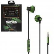 Наушники WK WE380 Green