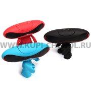 Колонка универсальная Bluetooth с подставкой 9007 голубой