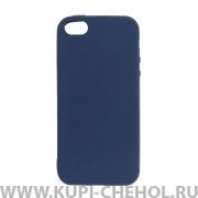Чехол-накладка Apple iPhone 5/5S/SE 11010 синий