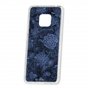 Чехол-накладка Huawei Mate 20 Pro Kruche Print Каменная роза
