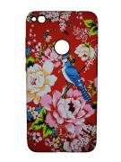 Чехол-накладка Huawei P8 Lite (2017) Luxo Flowers H7 фосфор