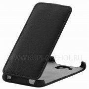 Чехол  откидной  Alcatel  6043D  Derbi  чёрн