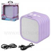 Колонка SmartBuy SBS-3220 3.5Вт белая фиолетовая