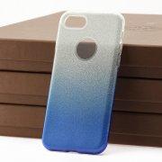 Чехол-накладка iPhone 7 9191 с градиентом голубой