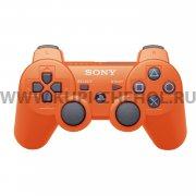 Джойстик Sony Dualshock 3 оранжевый