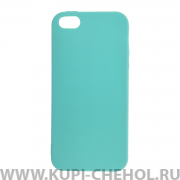 Чехол-накладка iPhone 5/5S 11010 бирюзовый