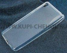 Чехол-накладка Sony F3311 Xperia E5 iBox Crystal прозрачный глянцевый 1.25mm