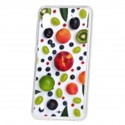 Чехол-накладка Samsung Galaxy A10 2019 Kruche Print Fruits