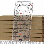 Чехол-накладка Samsung Galaxy S8 Plus Kruche Хэллоуин