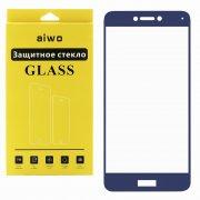 Защитное стекло Huawei P8 Lite (2017) Aiwo Full Screen синее 0.33mm