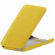 Чехол флип Samsung Galaxy J5 UpCase жёлтый