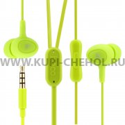 Наушники с микрофоном HOCO M3 Green