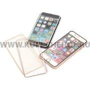Защитное стекло Apple iPhone 6 / 6S 4.7 цветное 9062 серебряное 0.33mm