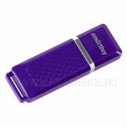 Флеш Smartbuy Quartz 32Gb Violet USB 2.0