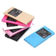 Чехол книжка Samsung G800F Galaxy S5 Mini Flip Cover 6572 чёрный + задняя крышка