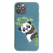 Чехол-накладка Apple iPhone 11 Pro Приключение Панды синий