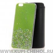 Чехол-накладка iPhone 6 Plus/6S Plus Конфетти зеленый