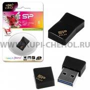 Флеш Silicon Jewel J08 8GB Black