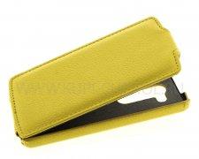 Чехол  откид  LG  D295 L Fino  UpCase  жёлт