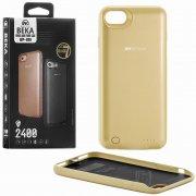 Чехол+АКБ Apple iPhone 7/8 2400 mAh WK Beka WP-020 Gold