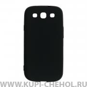 Чехол-накладка Samsung Galaxy S3 i9300 11010 черный