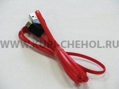 Кабель USB-Micro Remax RC-030i Aliens чёрно-красный 1м
