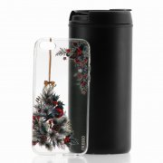 Чехол-накладка Apple iPhone 5/5S/SE Gresso Рождество