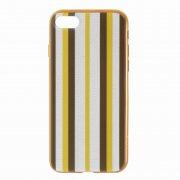 Чехол-накладка Apple iPhone 7 Hoco Glint Stripe Brown Yellow