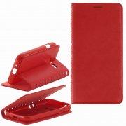 Чехол книжка Samsung Galaxy J1 mini 2016 Book Case New красный