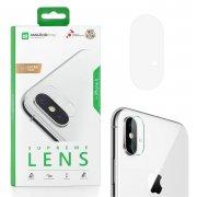 Защитное стекло для камеры Apple iPhone X Amazingthing SupremeLens 0.26mm