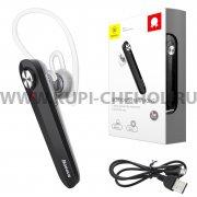 Bluetooth-гарнитура Baseus NGA01-0S Silver/Black
