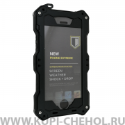 Чехол противоударный Apple iPhone 5/5S/SE R-JUST Gundam RJ-02 Black